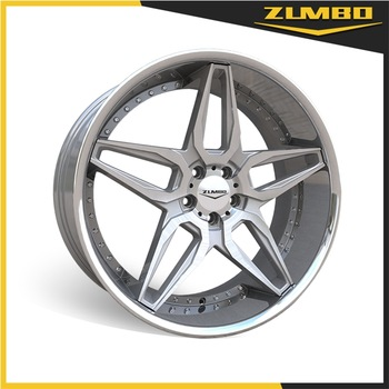 ZUMBO A0076 STAGGERED Car alloy aluminum wheel rim all types of car rims made in China with over 10 years' experience
