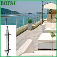 balcony handrail outdoor metal handrail for steps from Bopai Metal