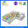 Indoor soft play/Popular kids plastic castle toy soft play equipment