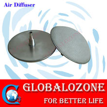 Ozone/oxygen aeration disc air stone diffuser for aquaculture water treatment