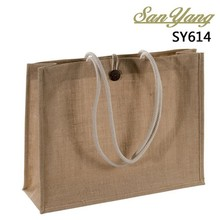 Hot selling wholesale reusable grocery linen shopping bags