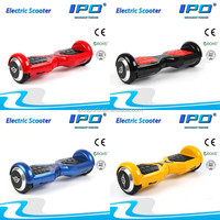 6.5inch motorized two wheels smart self balancing scooter electice scooter