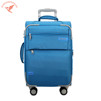 Nylon Spinner Trolley Case Colourful Woman