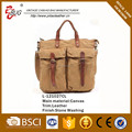 Latest Vintage stone wash Canvas tote bags Factory Guangzhou