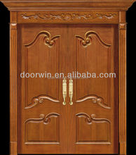 China supplier wood front door interior