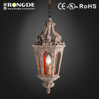 Europe style wooden hanging lamp chandelier pendant for decoration