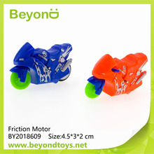 Cheap promotional mini friction toy motorcycle