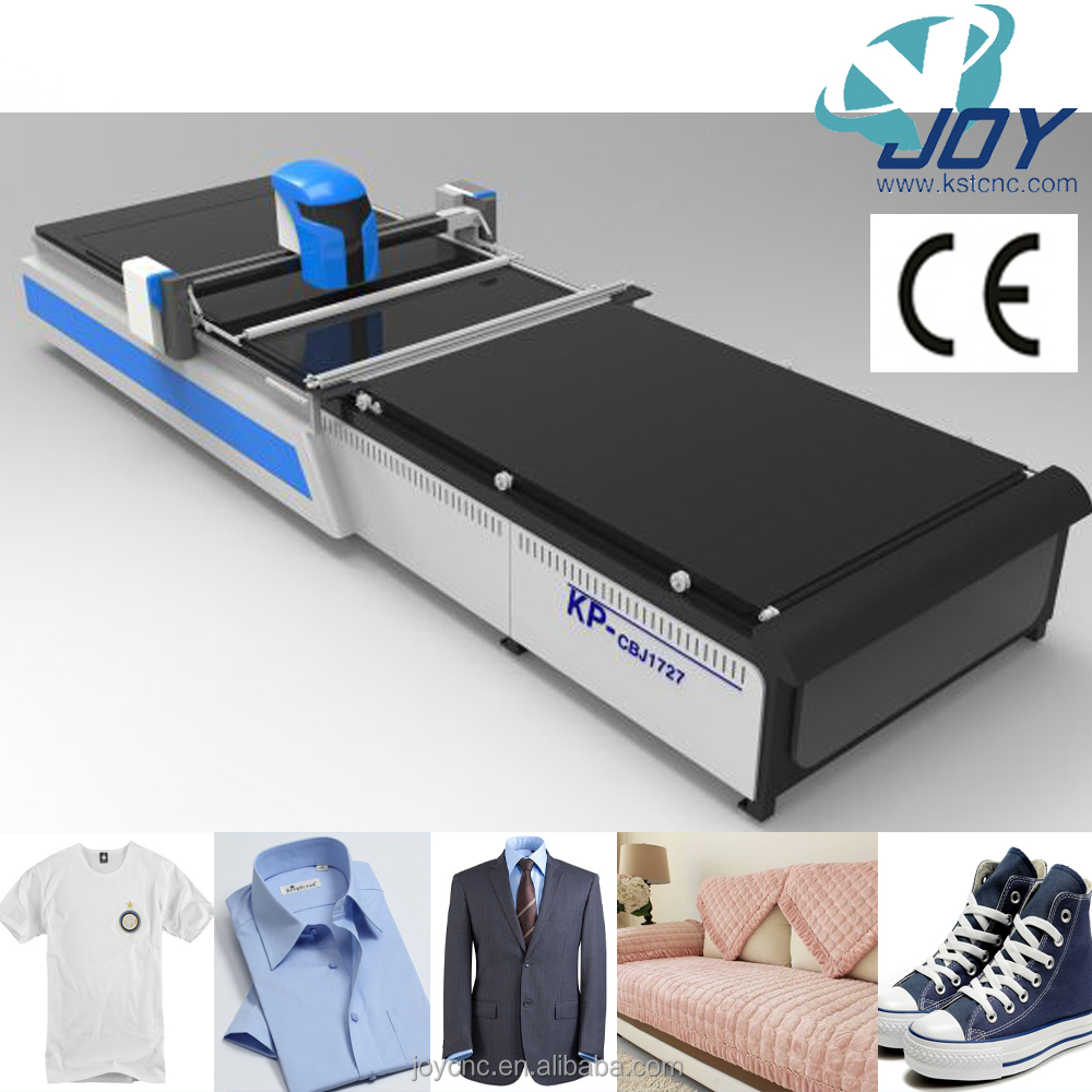 JOY KP-N Best economical cnc fabric cutting machine with cheap price special for small scale garments factory