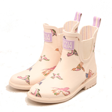 High Quality soft rubber boots laides rubber rain boots unique Design shoes cheap rubber boots