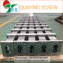 Segment screw and barrel / parallel double screw and barrel
