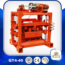 manual easy operated QT4-40 block making machine cement block making machine