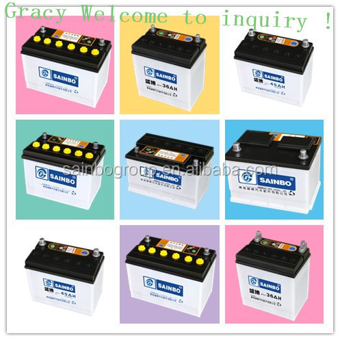 12V MF battery lead acid battery car battery 2134