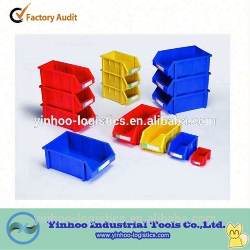 multipurpose plastic storage bins for warehouse with many different sizes made in China