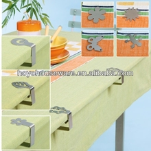 stainless steel tablecloth weight clip