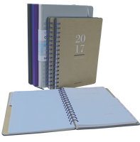 PU material 80 sheets inner pages and promotions usage