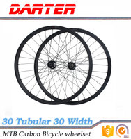 New excellent material Toray T700 30mm width 30mm depth bike carbon wheel and rim