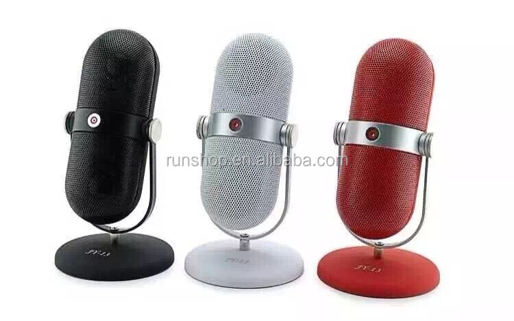 High Quality Mini Portable Pill Microphone Stereo MIC Bluetooth speaker