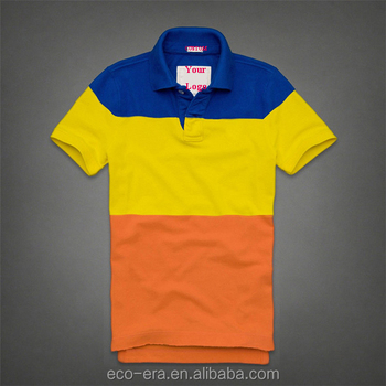 High Quality Clothing Sample Plain Polo Shirt Men's Striped Polo