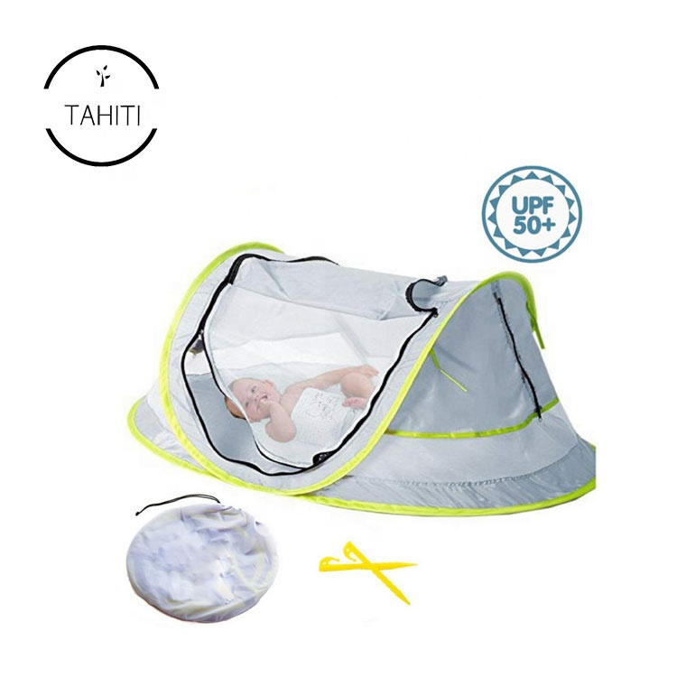 Portable UPF 50+ UV Protection Sun Shade Shelters Pop Up Collapsible Infant Baby Beach <strong>Tent</strong>
