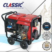 CLASSIC(CHINA) New Design! Open Type Portable 6kw Diesel Generator 50HZ 60HZ with Strong Frame
