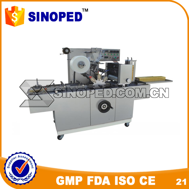 Flexible Beauty Product Cellophane Wrapping Machine
