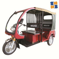 2015 BEST QUALTIY borac model for passenger three wheel electric auto rickshaw tricycle made in China for India and Bangladesh