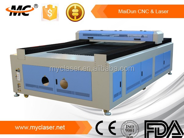 Over- format MC1325 laser leather / fabric / textile engraving machine cheap price