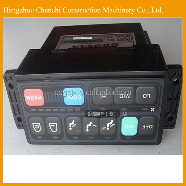 excavator DX220-5 electric parts cabin conditioner panel in stock
