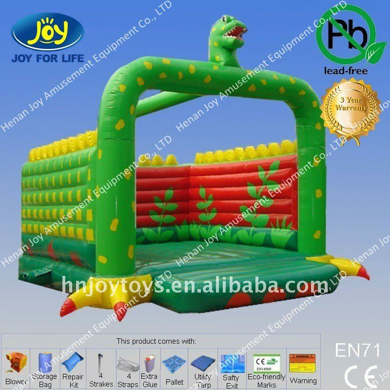 2011 interesting inflatable dinosaur jumpers
