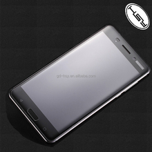 HUYSHE 2017 Newest Model for Nokia 6 3D Full Coverage Anti-Explosion Tempered Glass Screen Protector