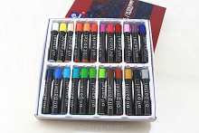 Memory New round pastel 24 colour ROUND Jumbo Oil Pastel WAX CRAYON