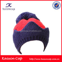 New pom pom winter Baby Boys Girls Toddler Crochet Cute Beanie Knit cap hats with