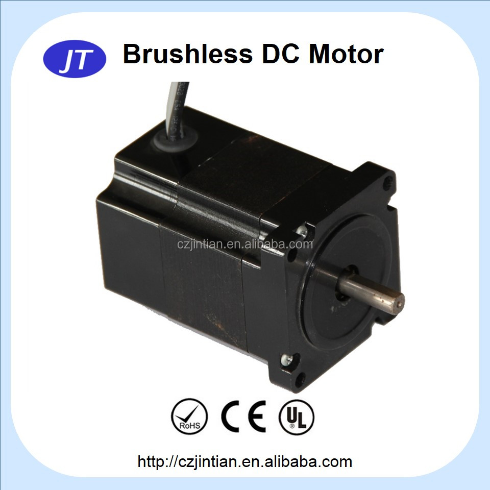 JT62ZWX033 high speed high torque brushless dc motor 200watt