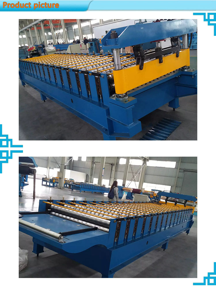 Bending Roof Construction Equipment Color Steel Plate Corrugated Iron Cold aluminum forming machine
