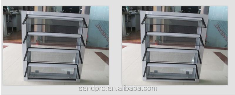 Guangzhou glass louver window glass shutter window glass for Une jalousie fenetre