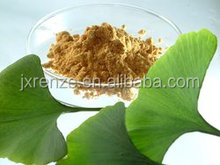 Natural Ginkgo Biloba Leaf Extract Powder, extract of ginkgo biloba leaf