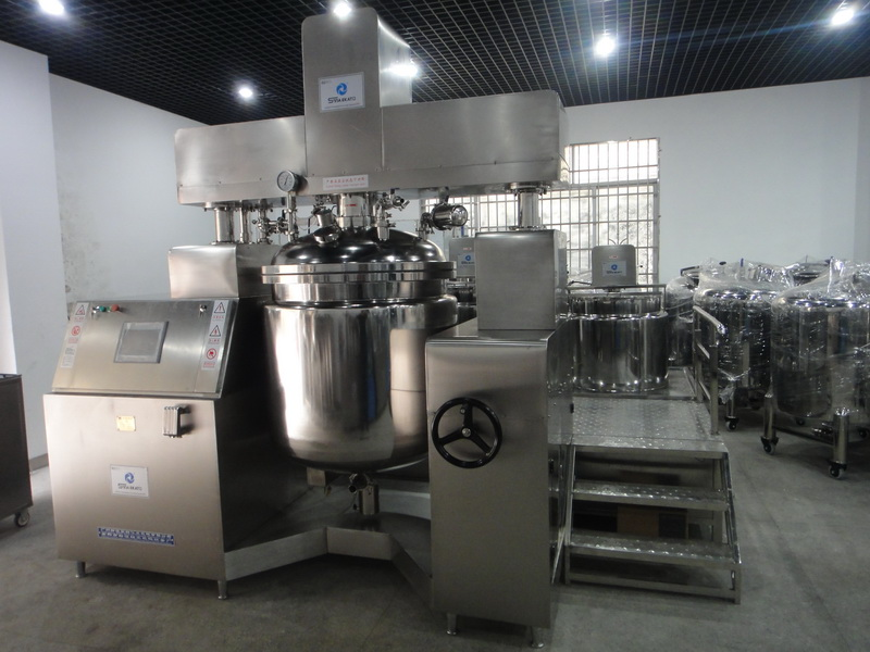 sina ekato high quality 5l vacuum emulsifying mixer for cream and ointment