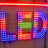 punching outdoor led light sign