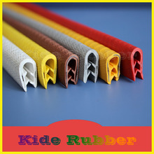 Manufacturer Price Flexible U Shaped Plastic Rubber Edge Trim For Sheet Metal