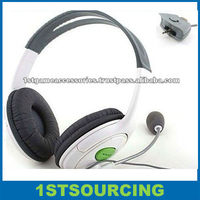 Headset for xbox360 with Microphone Mic live chat