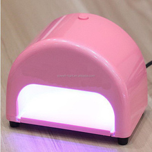 top selling products 2017 9w bulb uv gel dryer uv nail lamp made in China
