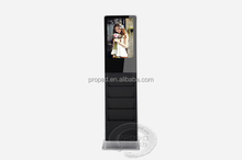 Exhibition shopping mall lcd tv monitor ad player