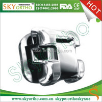 Dental Orthodontic Instruments Metal Self - Ligating Bracket