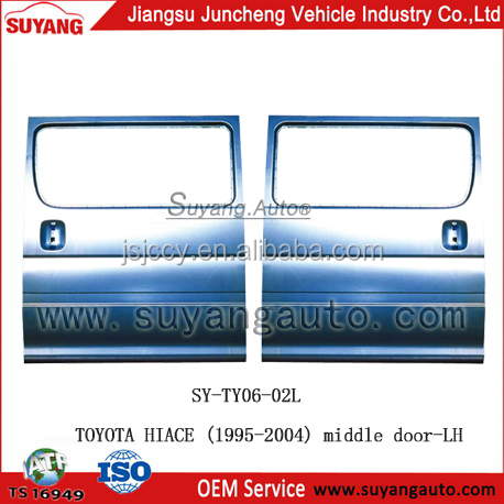 High Quality Steel Middle Door LH For Toyota Hiace Back Door Parts