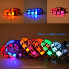 New Hot Selling Pet Products 2015 LED Collars For Dog
