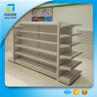 LT-A305 commercial metal and acrylic shelving used stainless steel shelving shop acrylic retail shelving units with great price