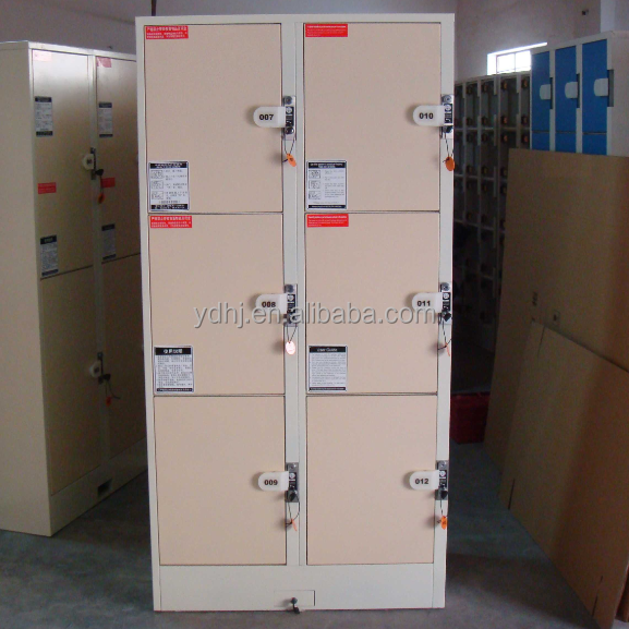 6 Doors Widely Used Lockers for school,company