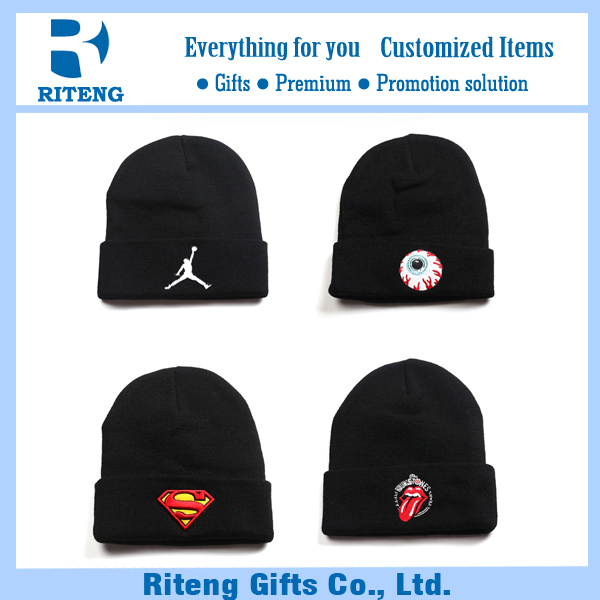 Export summer superman crochet beanie hat men
