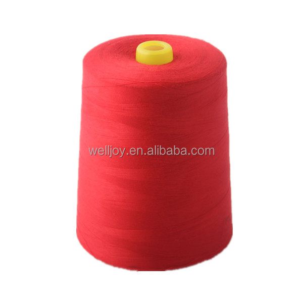 Ne 60/3 polyester sewing thread for high speed sewing machine