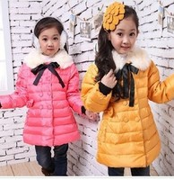 D62734W WINTER THICKED GIRL'S DOWN JACKET
